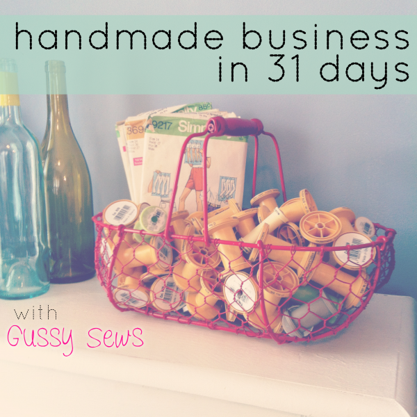 {Did you miss a post? Handmade Business in 31 Days: series recap}