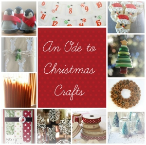 An ode to Christmas crafts
