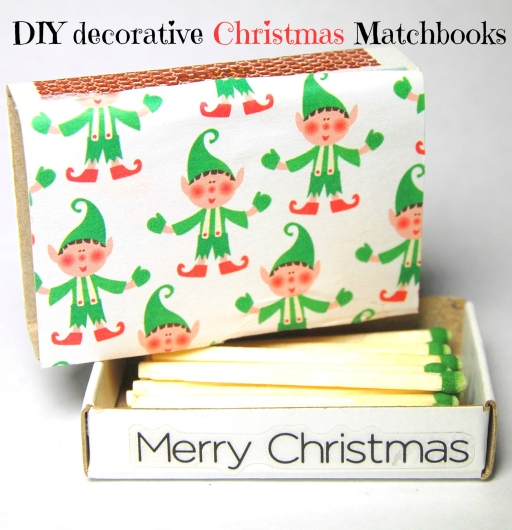 DIY make your own decorative Xmas matchboxes (25)